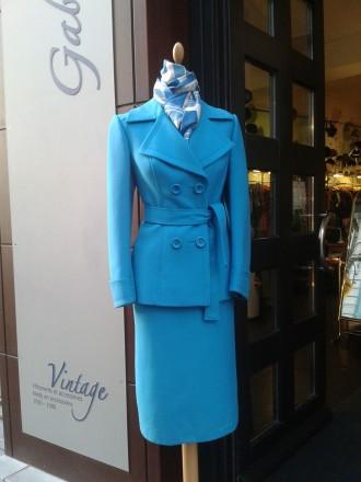 tailleur bleu